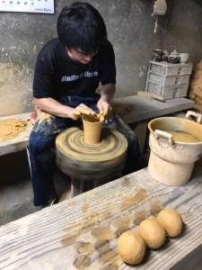 小鹿田焼き窯元