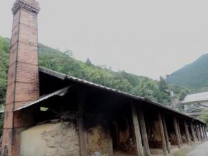 共同で使われている登り窯